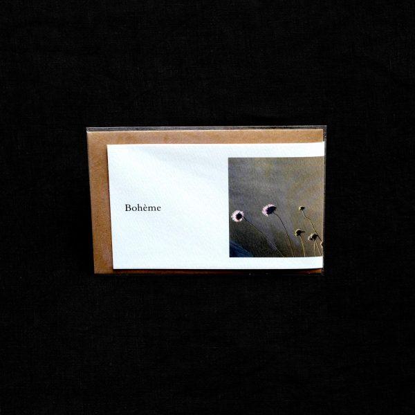 Carte postale Bohême