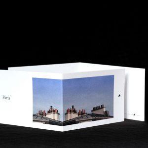Carte postale avec les toits de Paris