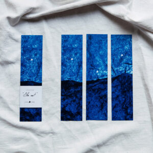 Marque-pages « Bleu nuit »