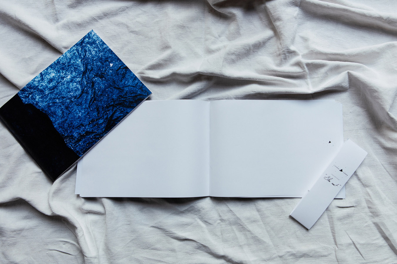 Carnet A4 collection Bleu nuit