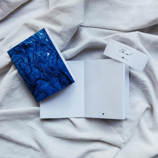 Carnet A6 bleu nuit