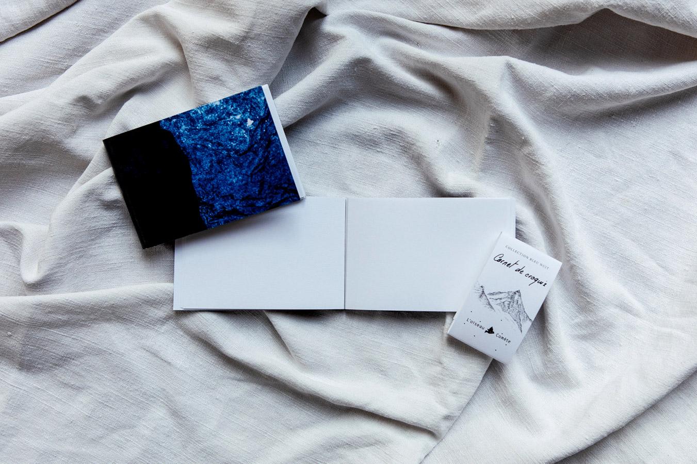carnet de croquis collection Bleu nuit
