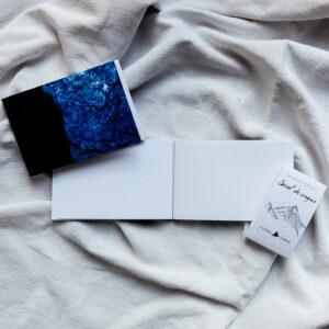 Carnet de croquis sécable «Bleu nuit»