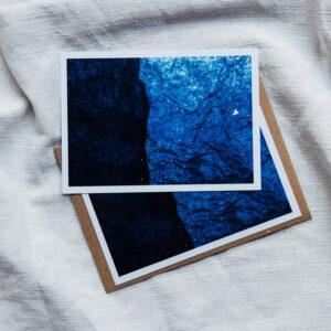 Carte Postale « Bleu nuit n°1 »