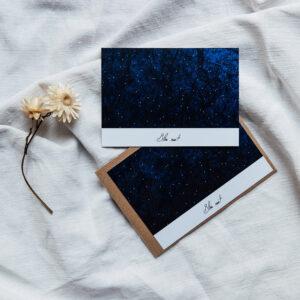 Carte Postale « Bleu nuit n°2 »